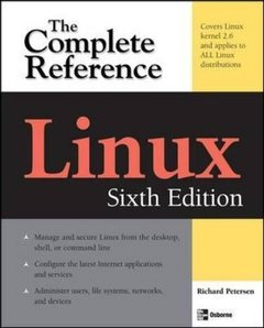 Linux: The Complete Reference, 6/e (Paperback)-cover