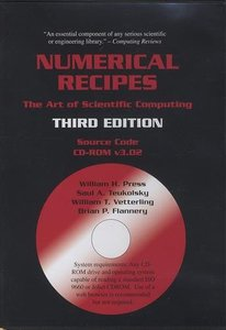 Numerical Recipes Source Code CD-ROM, 3/e : The Art of Scientific Computing