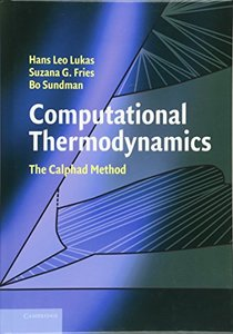 Computational Thermodynamics: The Calphad Method-cover
