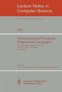 Combinators and Functional Programming Languages-cover