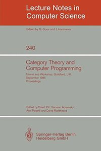 Category Theory and Computer Programming-cover