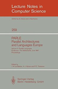 PARLE Parallel Architectures and Languages Europe-cover