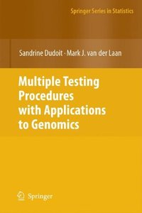 Multiple Testing Procedures with Applications to Genomics (Springer Series in Statistics)-cover