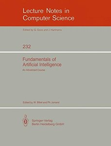 Fundamentals of Artificial Intelligence: An Advanced Course (Lecture Notes in Computer Science)