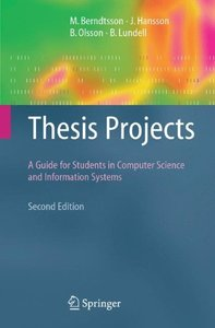 Thesis Projects: A Guide for Students in Computer Science and Information Systems-cover