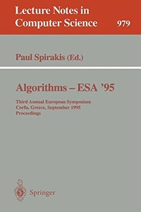 Algorithms - ESA '95: Third Annual European Symposium, Corfu, Greece, September, 25 - 27, 1995. Proceedings (Lecture Notes in Computer Science)-cover