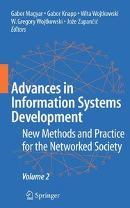 Advances in Information Systems Development: Volume 2-cover