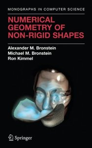 Numerical Geometry of Non-Rigid Shapes (Monographs in Computer Science)-cover