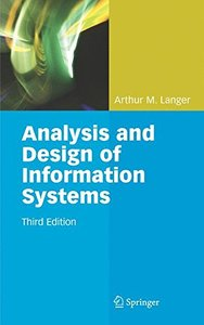 Analysis and Design of Information Systems-cover