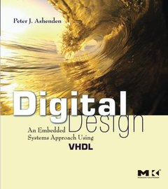 Digital Design: An Embedded Systems Approach Using VHDL (Paperback)-cover