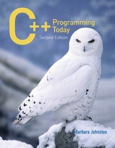 C++ Programming Today,  2/e(Paperback)