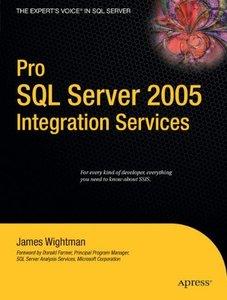 Pro SQL Server 2005 Integration Services-cover