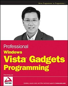Professional Windows Vista Gadgets Programming (Paperback)-cover