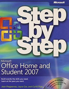 Microsoft Office Home and Student 2007 Step by Step (Paperback)-cover
