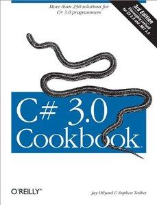 C# 3.0 Cookbook, 3/e (Paerback)-cover