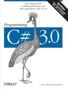 Programming C# 3.0, 5/e (Paperback)-cover