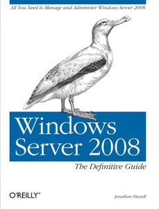 Windows Server 2008: The Definitive Guide (Paperback)-cover