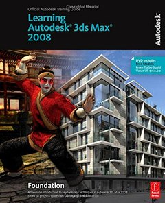 Learning 3ds Max 2008 Foundation (Paperback)-cover