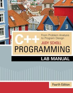 C++ Programming: From Problem Analysis to Program Design, 4/e-cover