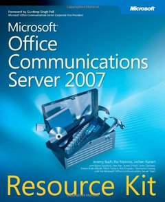 Microsoft Office Communications Server 2007 Resource Kit (Paperback)-cover