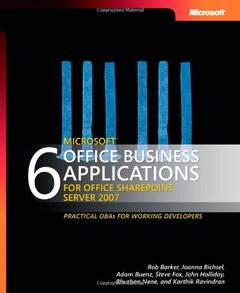 6 Microsoft Office Business Applications for Office SharePoint Server 2007-cover