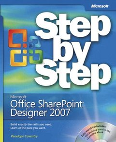 Microsoft Office SharePoint Designer 2007 Step by Step (Paperback)-cover