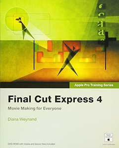 Apple Pro Training Series: Final Cut Express 4 (Paperback)-cover