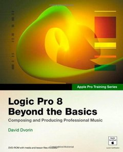 Apple Pro Training Series: Logic Pro 8: Beyond the Basics-cover