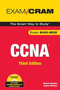 CCNA Exam Cram (Exam 640-802), 3/e-cover