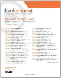 Microsoft Windows Vista: Mastering the Vista User Experience-cover