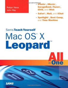 Sams Teach Yourself Mac OS X Leopard All in One-cover
