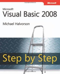 Microsoft Visual Basic 2008 Step by Step (Paperback)-cover