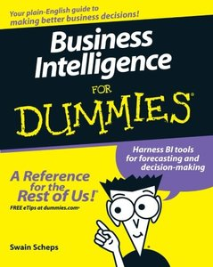 Business Intelligence For Dummies-cover