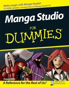 Manga Studio For Dummies-cover