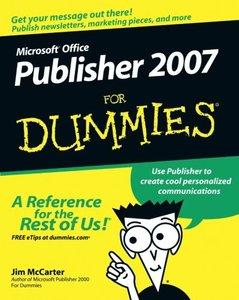 Microsoft Office Publisher 2007 For Dummies-cover