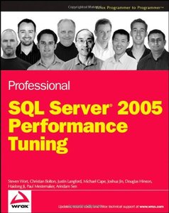 Professional SQL Server 2005 Performance Tuning-cover
