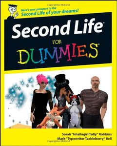 Second Life For Dummies-cover