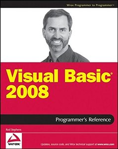 Visual Basic 2008 Programmer's Reference (Paperback)-cover