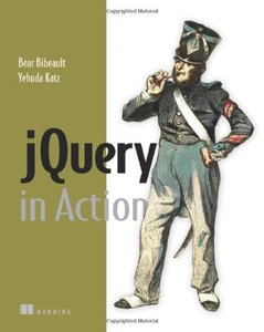 jQuery in Action (Paperback)-cover