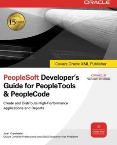 PeopleSoft Developer's Guide for PeopleTools & PeopleCode-cover