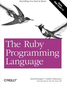 The Ruby Programming Language (Paperback)-cover