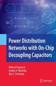 Power Distribution Networks with On-Chip Decoupling Capacitors (Hardcover)-cover