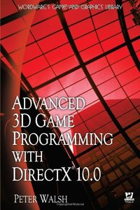 Advanced 3D Game Programming with DirectX 10.0 (Paperback)-cover