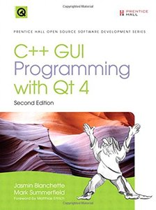 C++ GUI Programming with Qt 4, 2/e (Hardcover)-cover