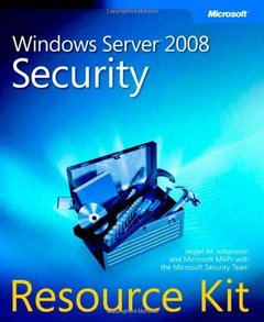 Windows Server 2008 Security Resource Kit (Paperback)-cover