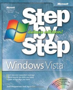 Windows Vista Step by Step Deluxe Edition (Paperback)-cover