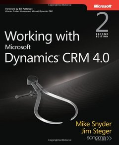 Working with Microsoft Dynamics CRM 4.0 (Paperback)-cover