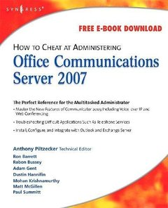 How to Cheat at Administering Office Communicator 2007 (Paperback)-cover