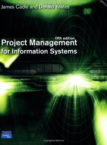 Project Management for Information Systems, 5/e (Paperback)-cover