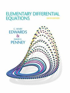 Elementary Differential Equations, 6/e(精裝)
